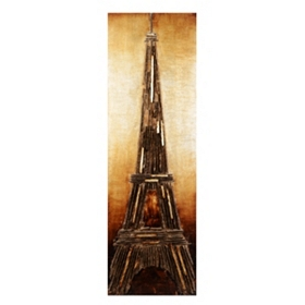 Eiffel Tower Wood Wall Art