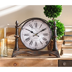 Bronze Tabletop Clock