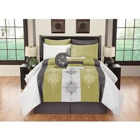 King Simone 8-pc. Comforter Set
