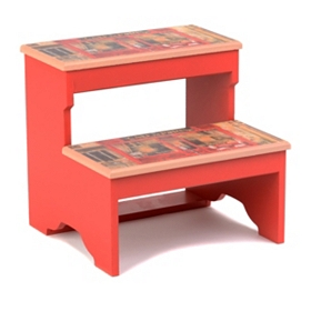 Café de Paris Step Stool