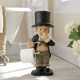 Stinky Butler Toilet Paper Holder