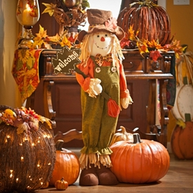 Welcome Harvest Scarecrow, 40 in.