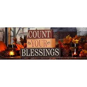 """Count Your Blessings"" Quote Blocks"