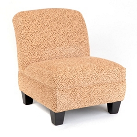 Cheetah Print Slipper Chair