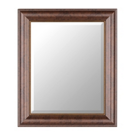 Bronze Classic Framed Mirror, 22x26
