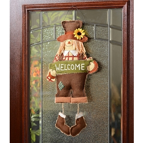 Burlap Scarecrow Wall Hanger