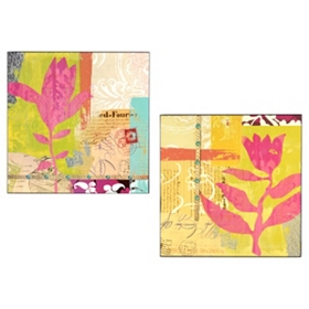 Urban Prairie Wood Art Panel, Set of 2