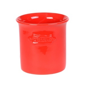 Cherry Red Utensil Holder
