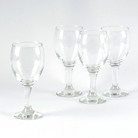 White Wine Glass, Set of 4