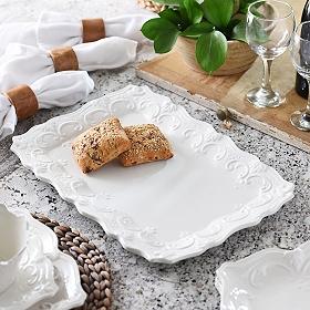 White Sweet Olive Platter