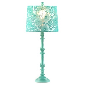 Floral Lace Table Lamp