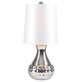 White Sparkle Mini Table Lamp
