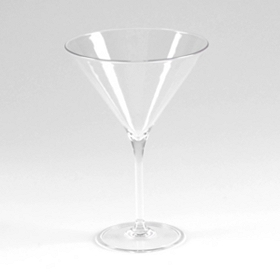 Clear Merona Shatterproof Martini Glass