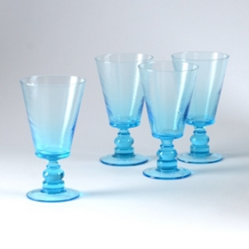 Aqua Milano Goblet, Set of 4