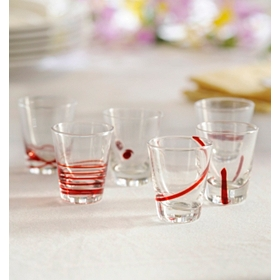 High Spirits Shot Glass, Set of 6