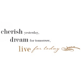 Live For Today Wall Decal