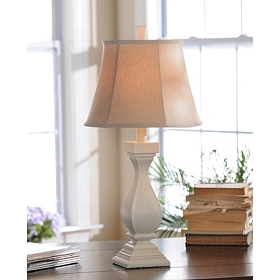 Katie Ivory Table Lamp
