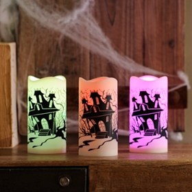 Haunted Mansion LED Candle
