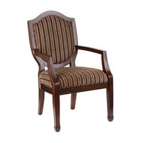 Abbot Striped Arm Chair