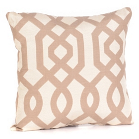 Gatehill Taupe Pillow