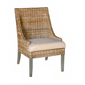 Seabrook Wicker Accent Chair