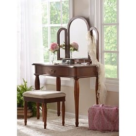 Eleanora Vanity with Stool