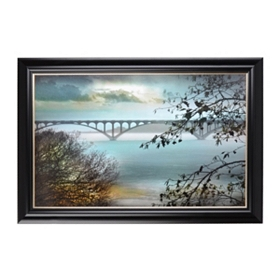 By My Side Framed Art Print