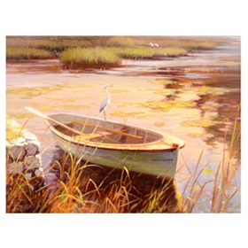 Wetlands Canvas Art Print