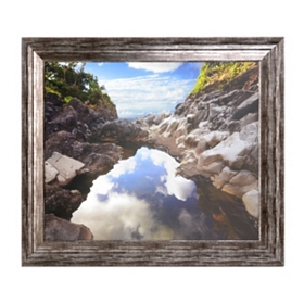 Reflecting Ravine Framed Art Print