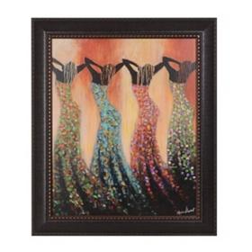 Dance of the Summer Solstice Framed Art Print