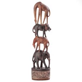 Safari Stack Statue