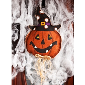Smiling Pumpkin Hanging Wall Decor