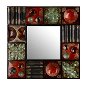 Spiced Orbit Wall Mirror, 30x30