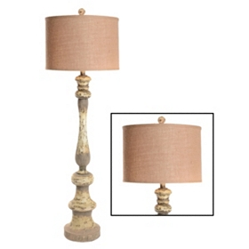 Sonoma Distressed Floor Lamp