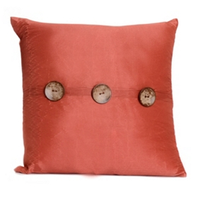 Spice Porter Button Pillow, 20 in.