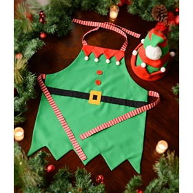 Little Elf Apron & Hat