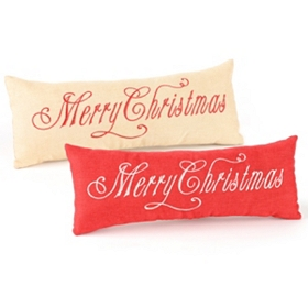 Merry Christmas Accent Pillows