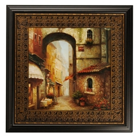 Ancient Arch Framed Art Print