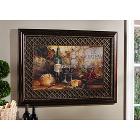 Le Chateau Framed Art Print