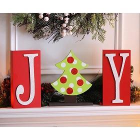 Christmas Joy Blocks