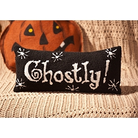 Ghostly Accent Pillow