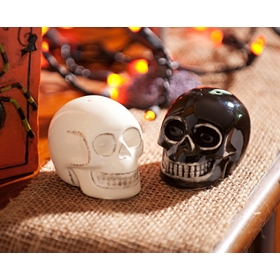 Salt & Pepper Skull Shakers