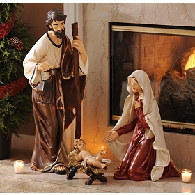 Divine Holy Family Statue, Set of 3