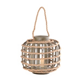 Small Bamboo & Rope Lantern