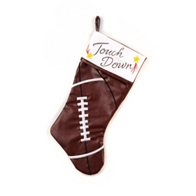 Touch Down Football Christmas Stocking