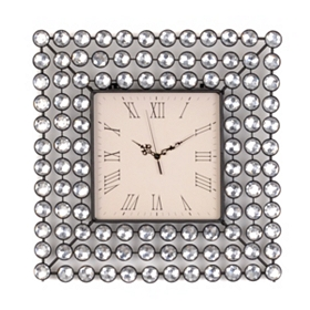 Diamond Bling Wall Clock