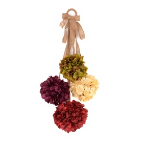 Hydrangea Floral Door Swag