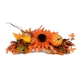 Sunflower & Gourd Centerpiece