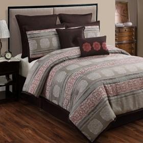 Pauline 8-pc. Queen Comforter Set