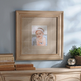 Distressed Cream Wood Picture Frame, 11x14